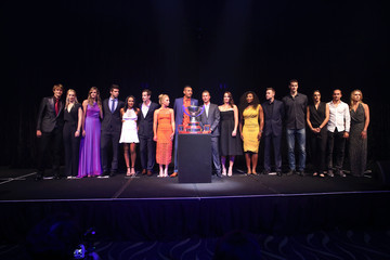 Andy Murray Heather Watson 2016 Hopman Cup Player Party
