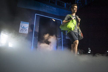 Andy Murray Barclays ATP World Tour Finals: Day 3