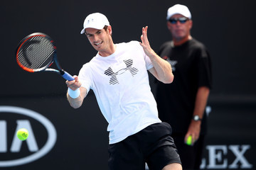Andy Murray 2017 Australian Open - Day 2