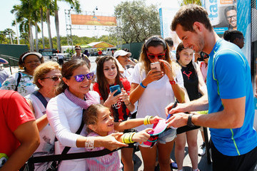 Andy Murray Miami Open Tennis - Day 2