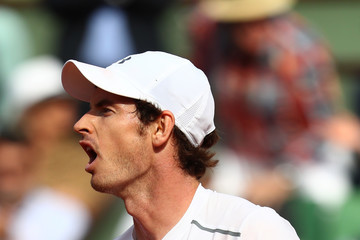 Andy Murray 2016 French Open - Day Four