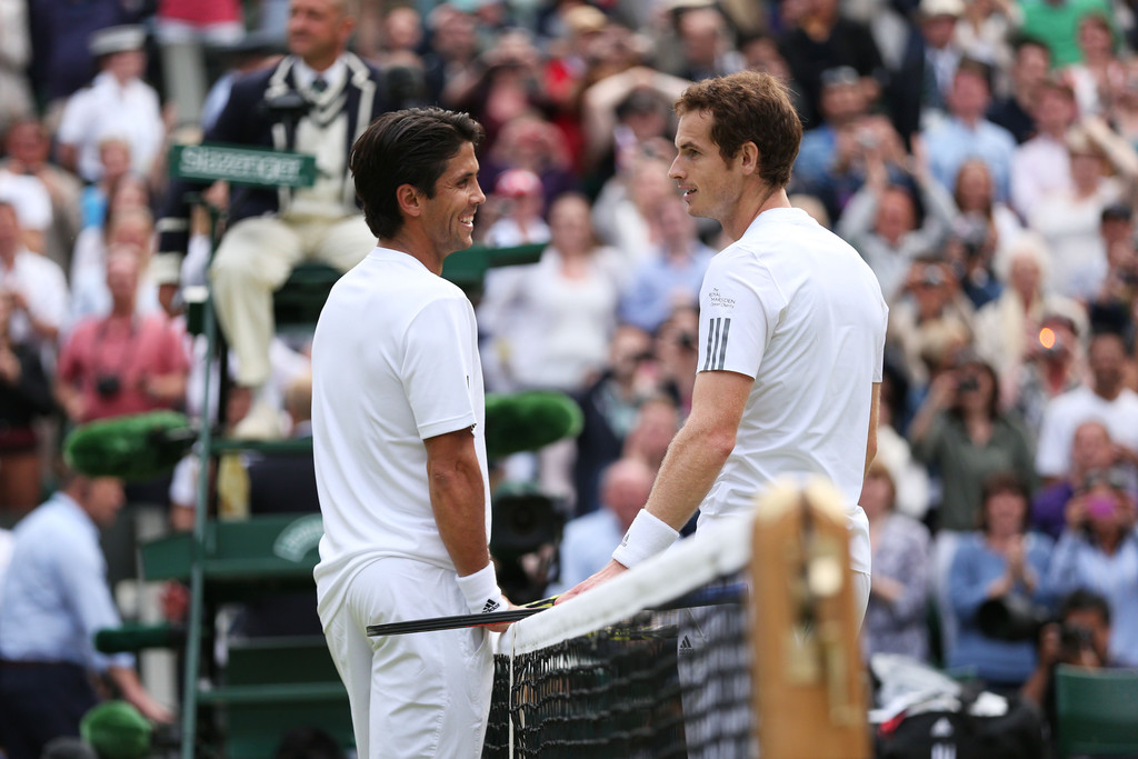 Andy Murray - Wimbledon Tennis Championships: Day 9