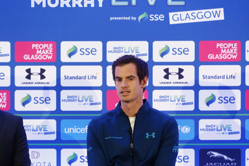 Andy Murray Andy Murray Live Launch Event