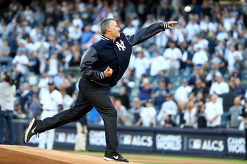 Andy Pettitte League Championship Series - Houston Astros v New York Yankees - Game Five