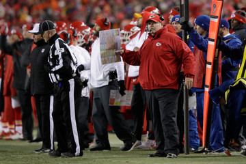 Andy Reid Divisional Round - Pittsburgh Steelers v Kansas City Chiefs