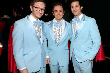 Andy Samberg Akiva Schaffer Behind the Scenes at the Oscars
