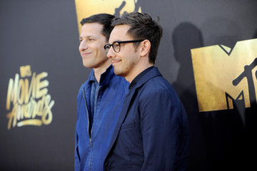 Andy Samberg Jorma Taccone 2016 MTV Movie Awards - Red Carpet