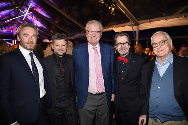 GREAT British Film Reception Honoring The British Nominees of The 90th Annual Academy Awards - Inside [event,suit,nominees,howard stringer,michael howells,andy serkis,james ivory,gary oldman,l-r,british,the 90th annual academy awards,great british film reception]