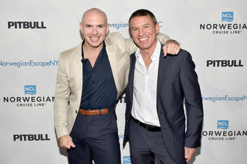 Andy Stuart Norwegian Escape Heads to NYC With Godfather Pitbull