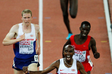 Andy Vernon 22nd European Athletics Championships: Day 2