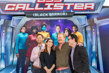 Andy Weil Netflix's 'USS Callister (Black Mirror)' Special Reveal Photo Call