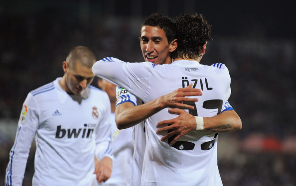 Image result for ozil and di maria