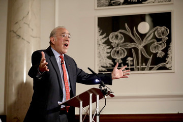 Angel Gurria Press Conference for the Presentation of the Latest Economic Survey of the UK