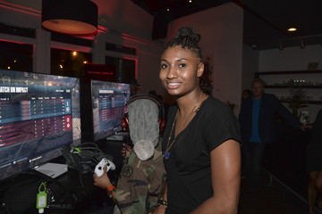 Angel McCoughtry Xbox and 'Gears of War 4' Atlanta Event