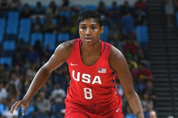 Angel McCoughtry Basketball - Olympics: Day 13