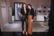 "Sara Sampaio (L) and Lisa Chavy attend they introduce ""LIVY"" at Victoria's Secret, Fifth Ave on February 12, 2019 in New York City."