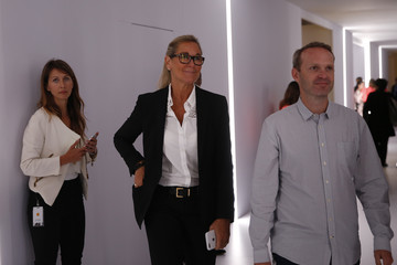 Angela Ahrendts Apple Holds Press Event to Introduce New iPhone