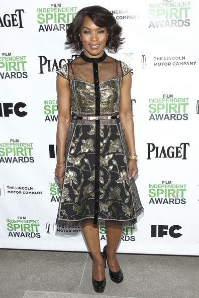 Angela Bassett - 2014 Film Independent Filmmaker Grant And Spirit Awards Nominees Brunch - Arrivals