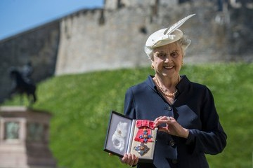 Angela Lansbury Investitures Held at Windsor Castle