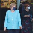Angela Merkel King Willem-Alexander Of The Netherlands And Queen Maxima Visit Berlin - Day Two