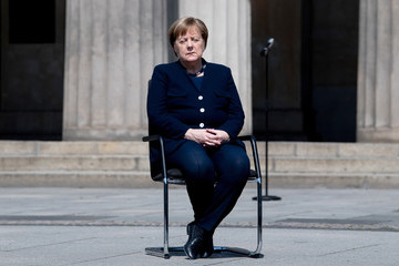 Angela Merkel European Best Pictures Of The Day - May 08