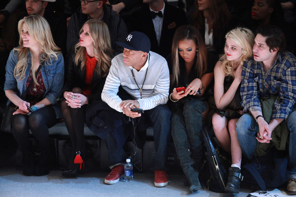 TRESemme At Charlotte Ronson - Front Row - Fall 2012 Mercedes-Benz Fashion Week