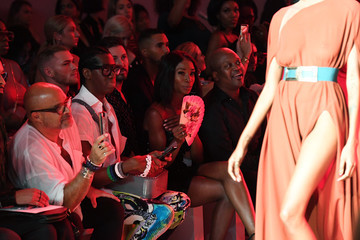 Angelica Ross Michael Costello - Front Row - September 2018 - New York Fashion Week: The Shows
