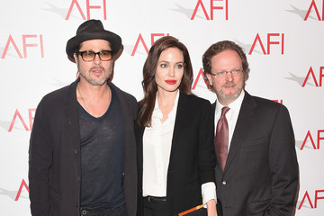Angelina Jolie Brad Pitt Arrivals at the 15th Annual AFI Awards