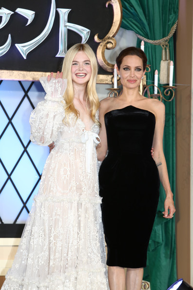 Angelina Jolie And Elle Fanning Photos Photos Maleficent