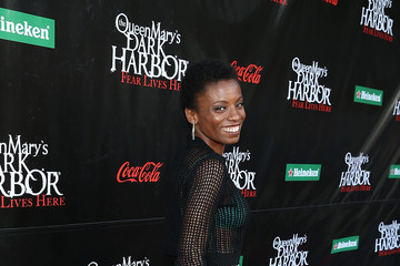 Angelique Bates The Queen Mary's Dark Harbor Media Night 2016