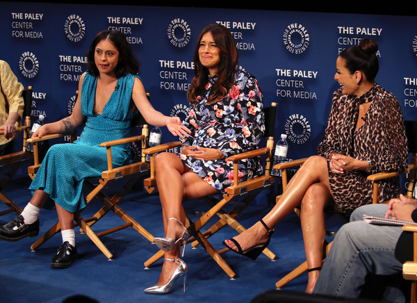 The Paley Center For Media's 2019 PaleyFest Fall TV Previews - Amazon - Inside [paleyfest fall tv previews - amazon - inside,event,sitting,news conference,performance,talent show,constance marie,angelique cabral,rosa salazar,stage,l-r,the paley center for media,california,beverly hills,paley center for media]