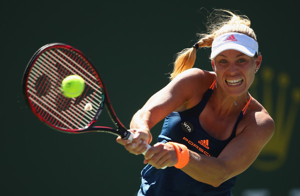 An Upbeat Angelique Kerber Remains Positive Following Latest Loss