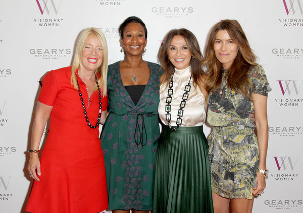Visionary Women Presents 'Cherie Blair In Conversation with Mary Hart'