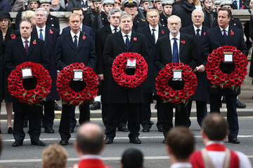 Angus Robertson The UK Observes Remembrance Sunday
