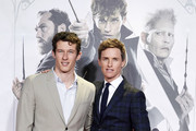 Eddie Redmayne and Callum Turner Photos Photo