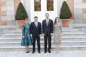 Anita Herczegh Spanish Royals Official Lunch With Hungarian President