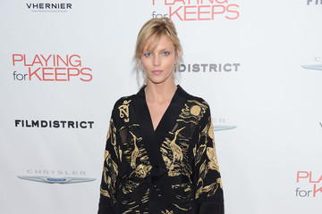 """Anja Rubik Film District And Chrysler With The Cinema Society Premiere Of """"Playing For Keeps"""" - Arrivals"""