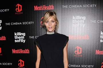 """Anja Rubik The Cinema Society With Men's Health And DeLeon Host A Screening Of The Weinstein Company's """"Killing Them Softly"""" - Arrivals"""