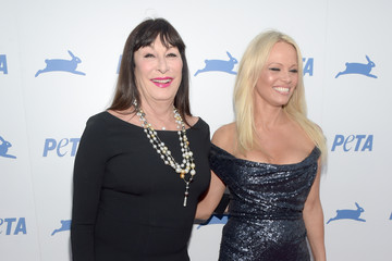 Anjelica Huston PETA's 35th Anniversary Party - Red Carpet