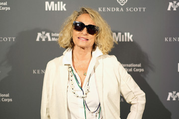 Ann Dexter-Jones Sienna Miller And Milk Studios Host International Medical Corps Summer Cocktail Event
