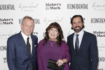 Ann Dowd Los Angeles Confidential Emmys Celebration With Elisabeth Moss