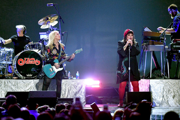 2019 iHeartRadio Music Festival And Daytime Stage [heart,performance,entertainment,concert,performing arts,music,musician,event,stage,public event,rock concert,ann wilson,nancy wilson,l-r,las vegas,nevada,t-mobile arena,iheartradio music festival and daytime stage]