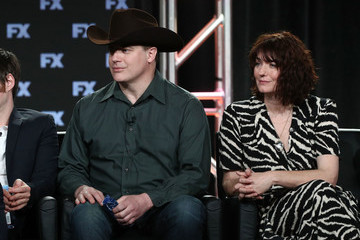Anna Chancellor 2018 Winter TCA Tour - Day 2