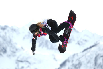Anna Gasser Snowboard - Winter Olympics Day 2