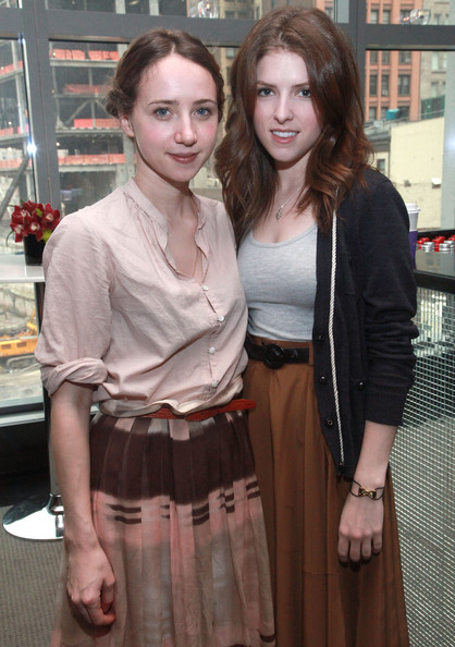 Anna Kendrick Actresses Zoe Kazan (L) and Anna Kendrick attend the annual Tribeca Film Festival Women Filmmaker Brunch hosted by the W Hotel New York - Downtown at the W Hotel New York - Downtown on April 25, 2011 in New York City.