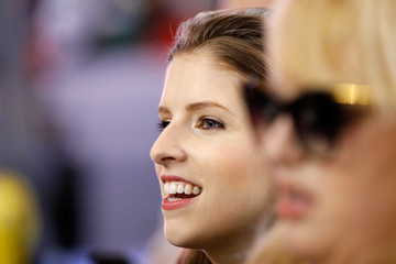 Anna Kendrick NFC Championship - Green Bay Packers v Atlanta Falcons