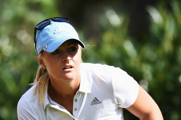 Anna Nordqvist Evian Championship Golf - Day Two