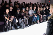 A view of the front row at the Anna Sui fashion show during New York Fashion Week: The Shows at Gallery I at Spring Studios on February 11, 2019 in New York City.