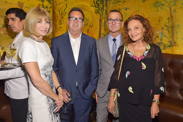 Anna Wintour Steven Kolb New York Times Welcome Party