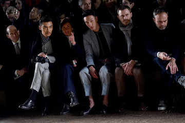 Anna Zegna ERMENEGILDO ZEGNA - Front Row - Milan Menswear Fashion Week Fall Winter 2015/2016